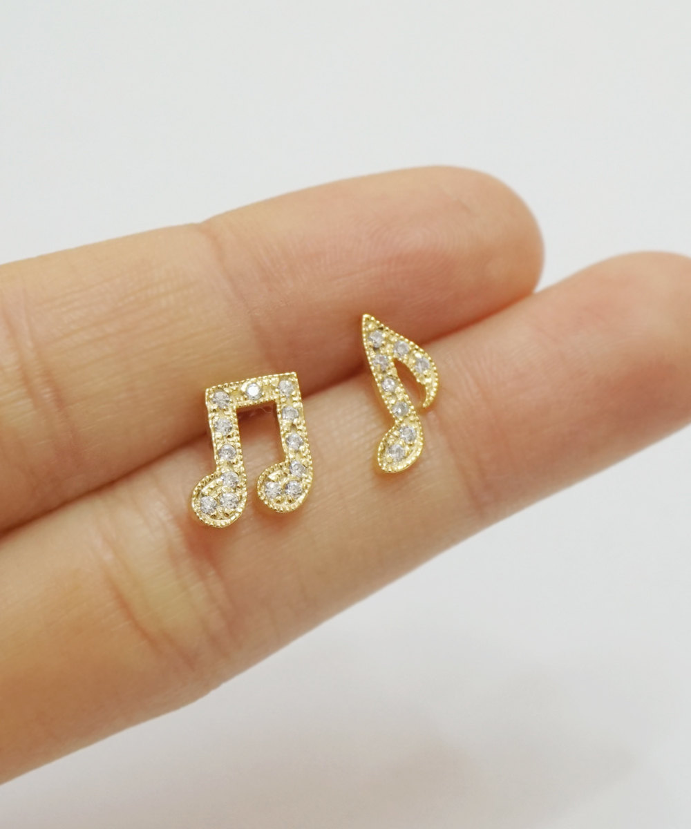 kids earrings stud delicate studs small fullxfull solid nhwo il for girls cubic zirconia gift p gold yellow